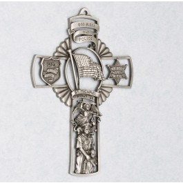 Police Cross: Pewter