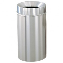 Funnel-Top Trash Can