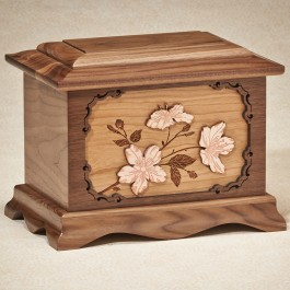 3-Dimensional Imperial Series: Cherry Blossoms: Walnut