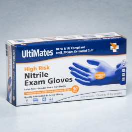 High Risk Nitrile Gloves