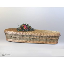Seagrass Casket 5 ft. 9 in.