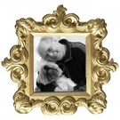 Royale Baroque Photo Frame Applique