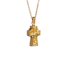 Celtic Cross Pendant - 14k Gold Plated