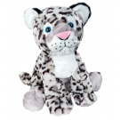 Plush Cremation Keepsakes: White Snow Leopard