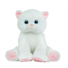 Plush Cremation Keepsakes: White Cat